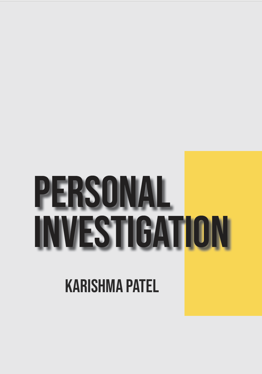 PERSONAL INVESTIGATION